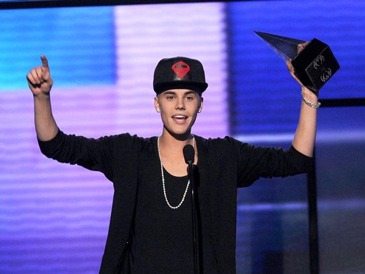 Justin Bieber räumte drei Awards ab