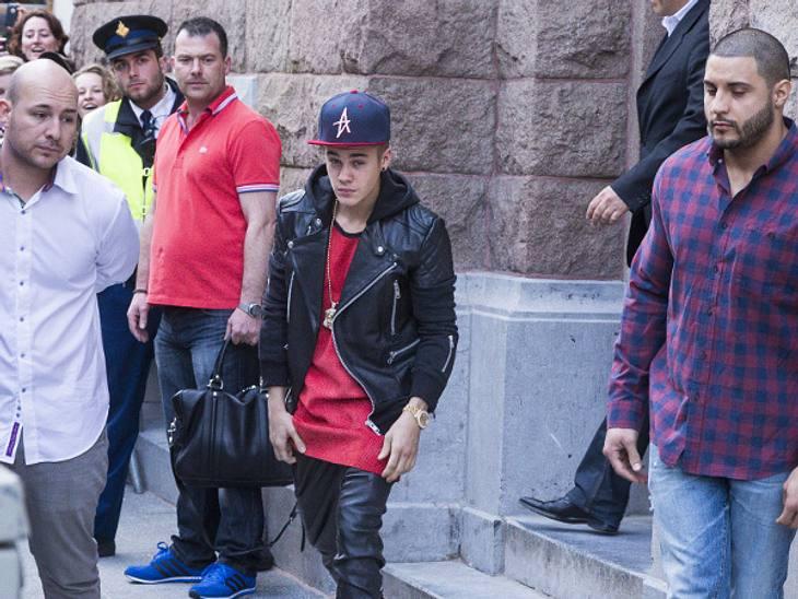 Justin Bieber hetzte seine Leibwächter auf einen Fotografen