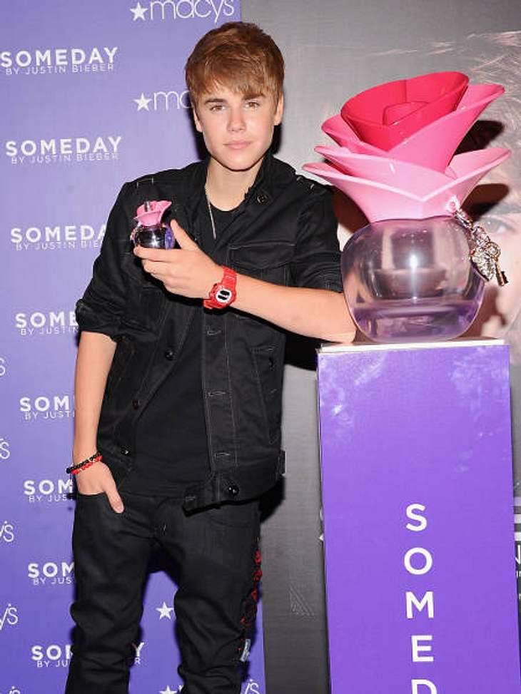 """Der Duft der Stars""""Someday by Justin Bieber"""" ist ein schlauer Schachzug des kanadischen Popzwerg. Er bringt nämlich keinen markanten Herrenduft heraus, sondern hat sich dufttechnisch etwas für seine Millionen weiblichen Fans ausge"""