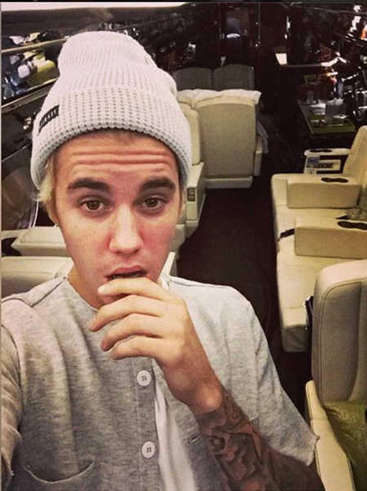 Justin Bieber: Jet-Protzerei nur Fake?