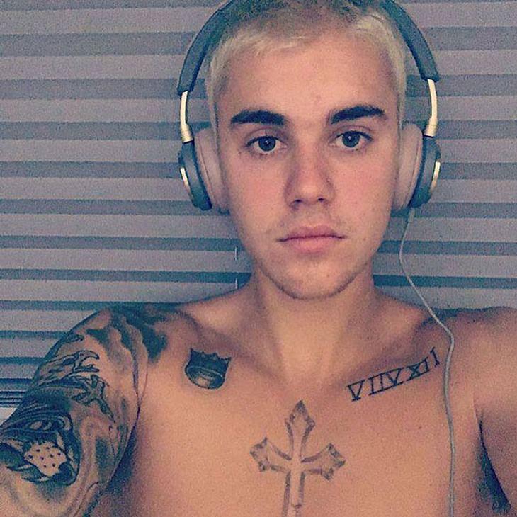 Justin Bieber zeigt sich nackt