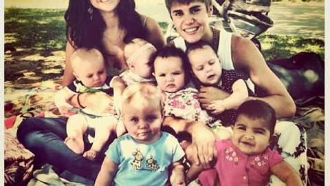 Justin Bieber möchte früh heiraten und schnell Kinder - aber so schnell?! - Foto: http://instabieber.com/