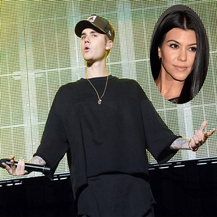 Justin Bieber fühlt sich von Kourtney Kardashian benutzt!