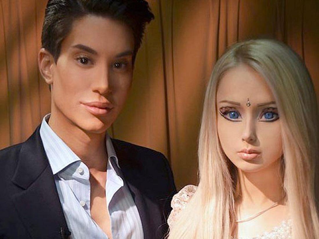 """Justin Jedlica """"Real Life""""-Ken und """"Real Life""""-Barbie mögen sich nicht."""