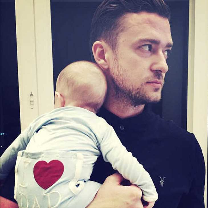 Justin Timberlake plant schon die Geschwister für Silas