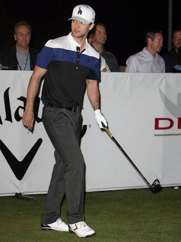 ,Fitness-Check: Die liebsten Sport-Arten der StarsGolfen ist cool, zumindest seit es  Justin Timberlake zu seiner Lieblings-Sportart gemacht hat. Er hat sogar einen eigenen Golfplatz.
