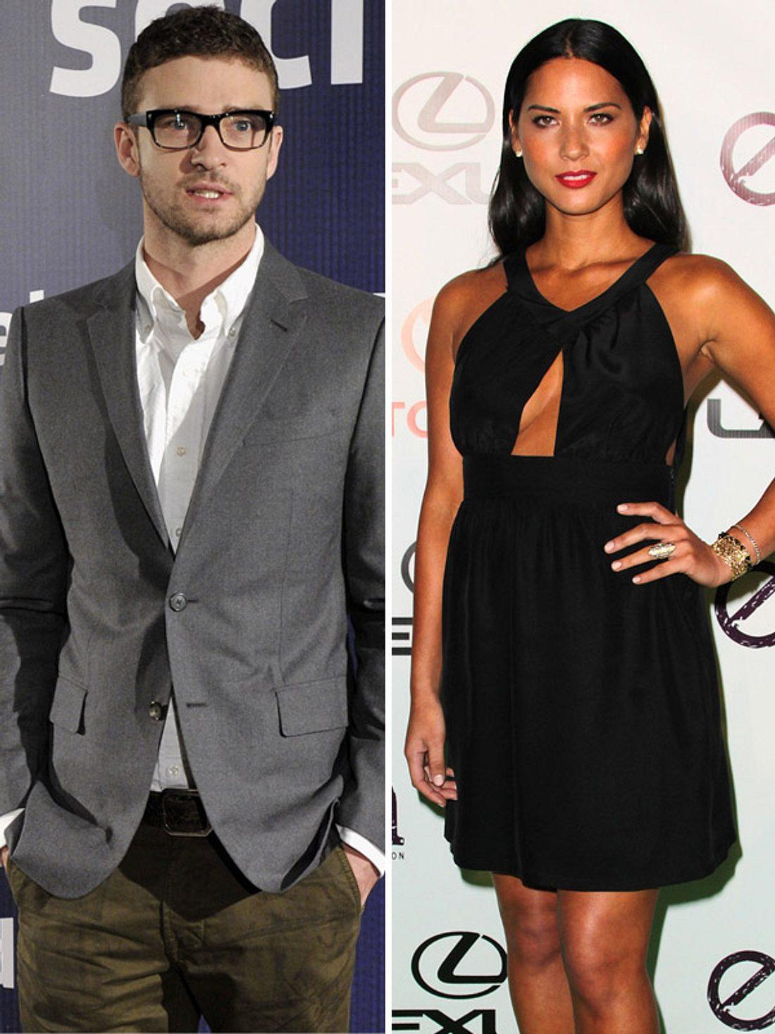 Justin Timberlake soll eine Affäre mit Olivia Munn gehabt haben