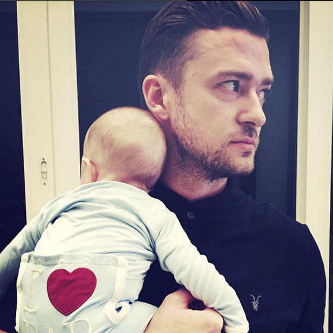 Justin Timberlake Sohn Silas