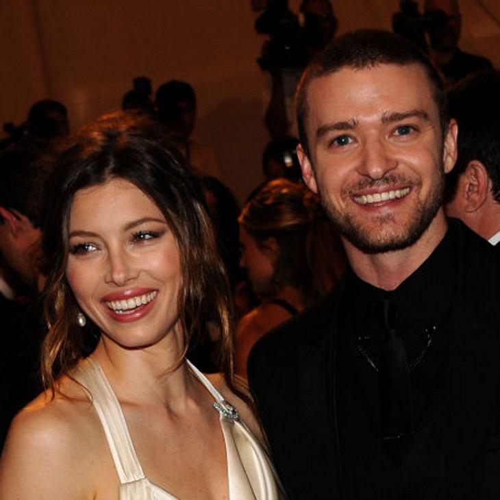 Justin Timberlake und Jessica Biel haben ihre Verlobung gefeiert