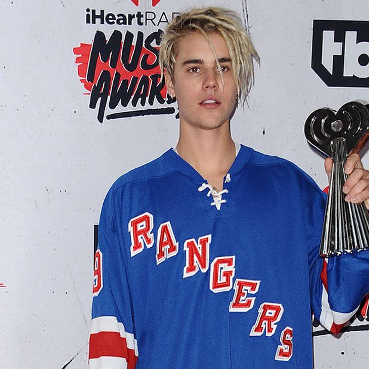 Justin Bieber ließ auf der Bühne den Tränen freien Lauf