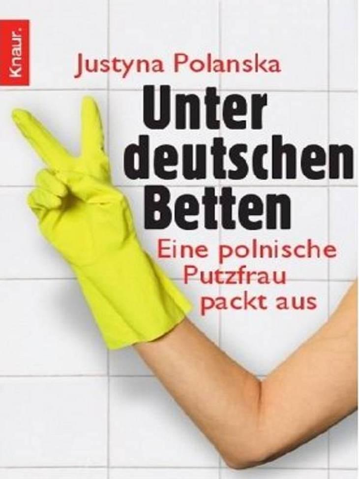"""Justyna Polanska: Unter deutschen BettenKnaur, ca. 8,99Darum geht's in """"Unter deutschen Betten"""": Justyna kommt aus Polen. Sie ist Putzfrau. Ihr Job lässt sie sehen, wie es bei den Leuten zu Hause wirklich aussieht. Und da kommt ih"""
