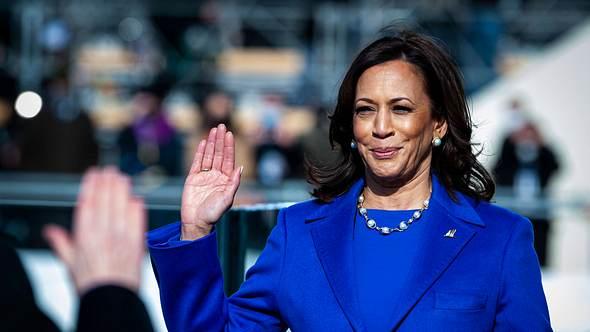 Kamala Harris ist Vizepräsidentin der USA - Foto: Imago