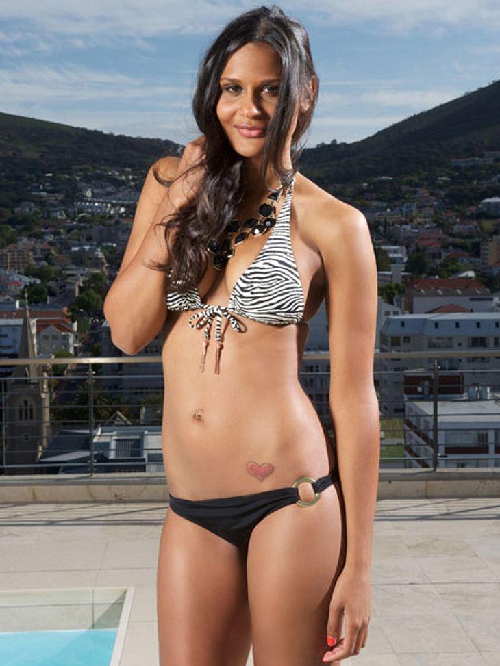 """""""Bachelor 2013"""": Bikini-Rätsel der Kandidatinnen - Wer ist das Playmate?Süß und zugleich verführerisch - so wirkt Kamika (24)."""