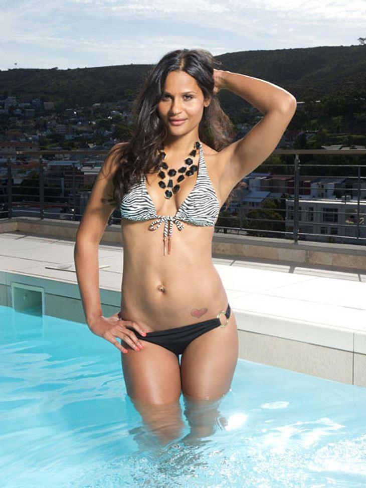 """""""Bachelor 2013"""": Bikini-Rätsel der Kandidatinnen - Wer ist das Playmate?Die Düsseldorferin ist Model. Ein Hinweis darauf, dass sie eins der Playmates sein könnte?"""