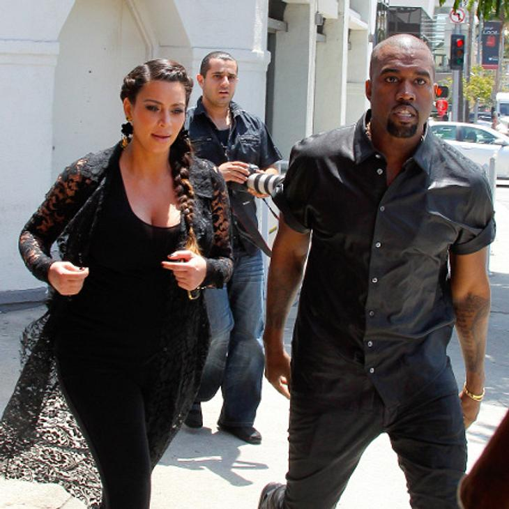 Kim Kardashian und Kanye West sollen gedoubelt werden