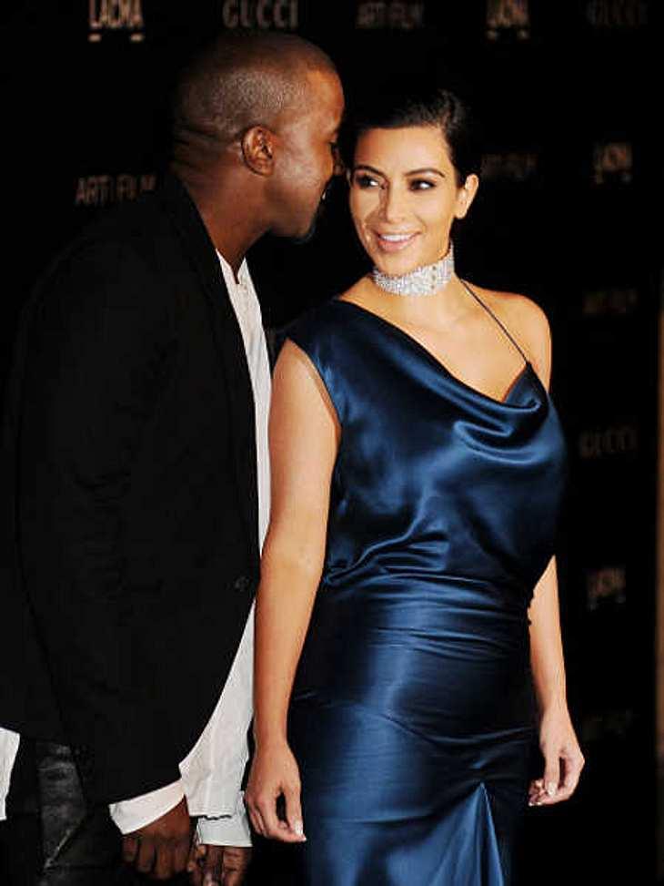 Kim Kardashian und Kanye West feiern bald ihren 1. Hochzeitstag