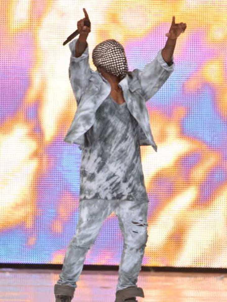 Kanye West wird von der Bühne gebuht