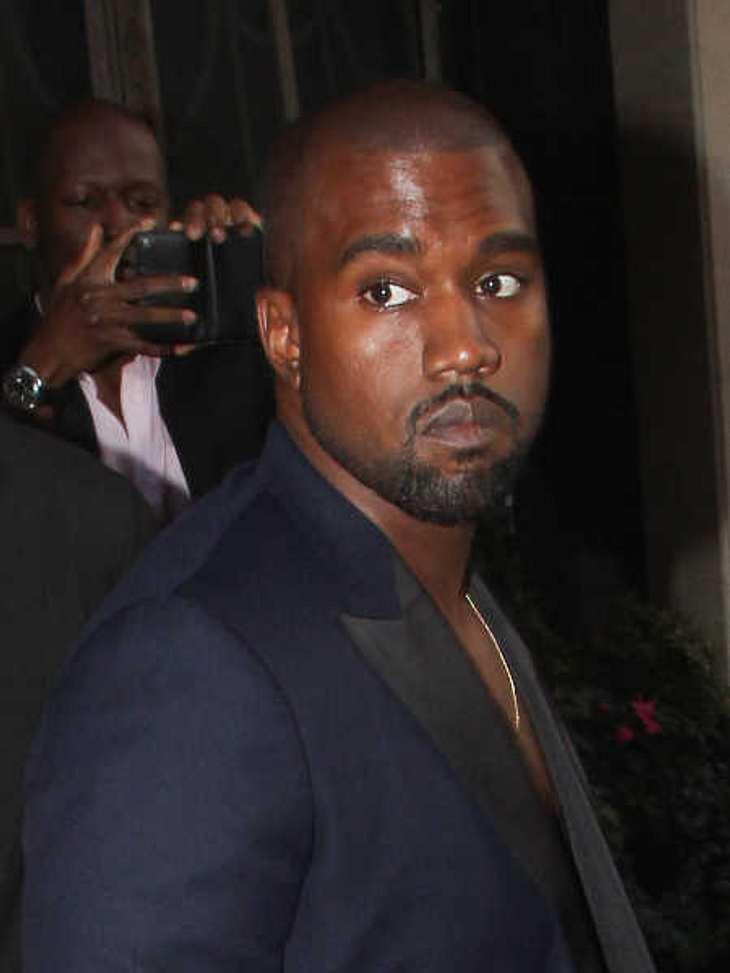 Kanye West wurde ins Krankenhaus gebracht.
