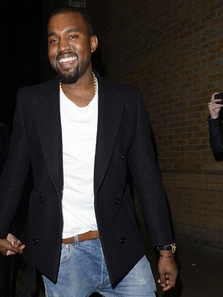 Kanye West hat gut lachen: Seine Fans müssen tief in die Tasche greifen für ein schlichtes, weißes T-Shirt.
