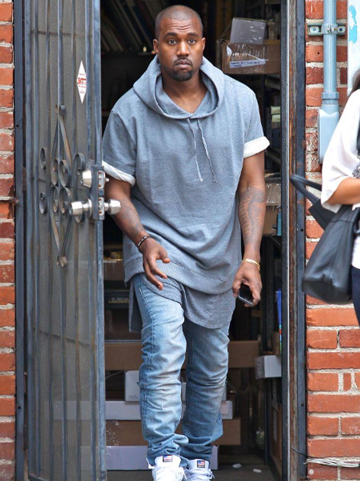 Kanye West ist mal wieder ausgetickt