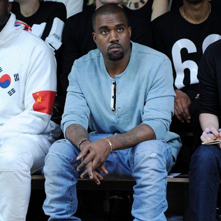 Kanye West war zu Gast bei Jimmy Kimmel.