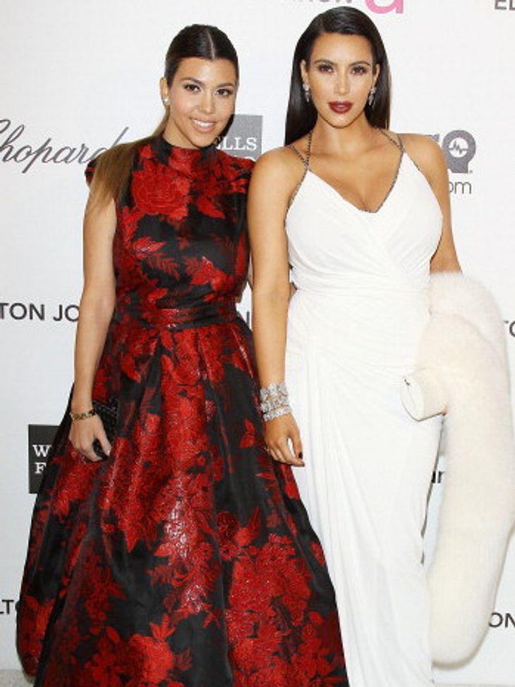 Kim und Kourtney Kardashian