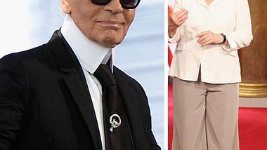 Karl Lagerfeld kritisiert Angela Merkels Outfit