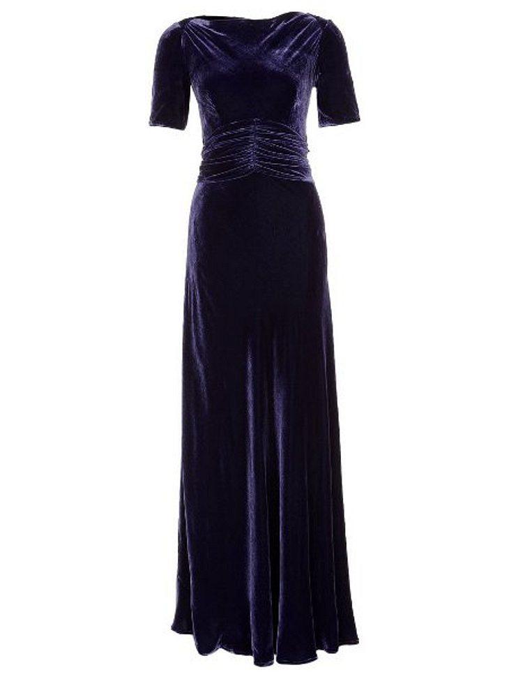 Klau den Look der Stars: Partykleider-SpecialSamtkleid von Libelula, um 644,95 Euro