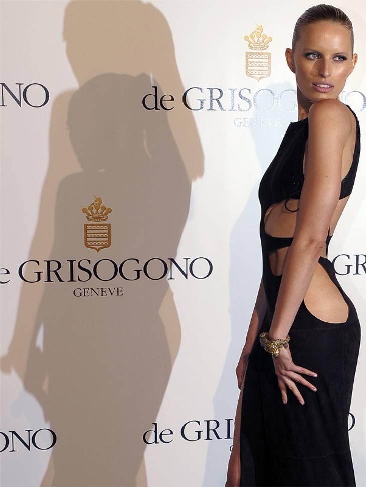CannesKarolina Kurkova ist wohl einer der präsentesten Stars der Filmfestspiele: Kein roter Teppich ohne sie.