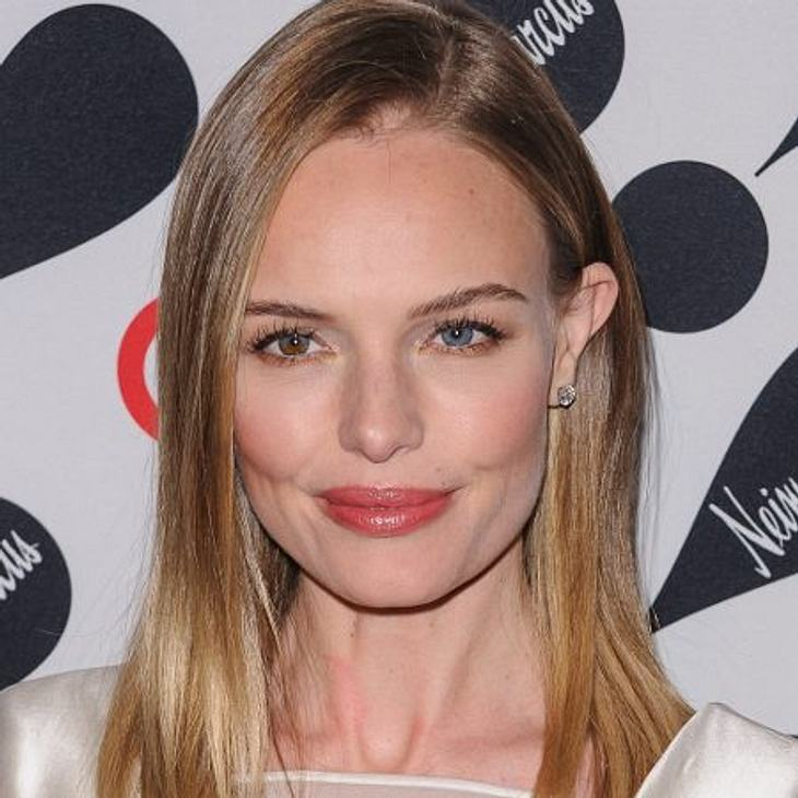 Sideswep - der Frisuren-Trend der StarsAuch Kate Bosworth steht auf den schlichten Sideswep.