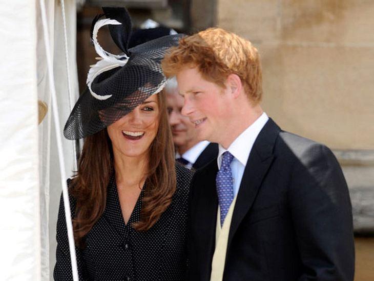 Herzogin Catherine und Prinz Harry stehen sich sehr nahe