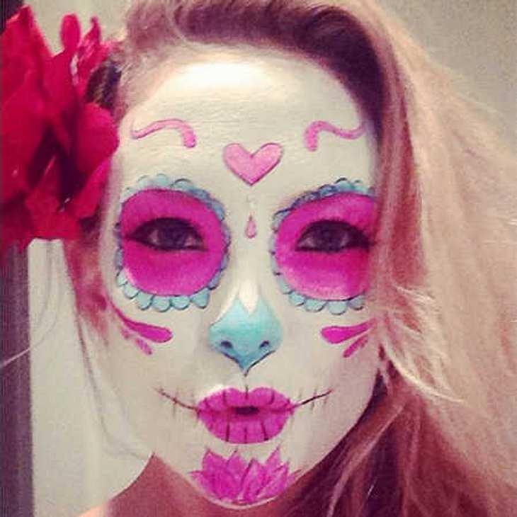 Kate Hudson: Kunterbunt zu Halloween!