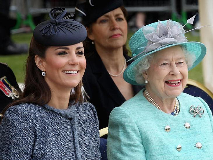 Herzogin Catherine und die Queen scheinen sich wieder besser zu verstehen