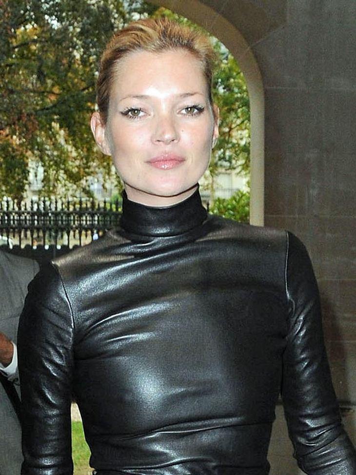 Kate Moss hat einiges auf dem Kasten