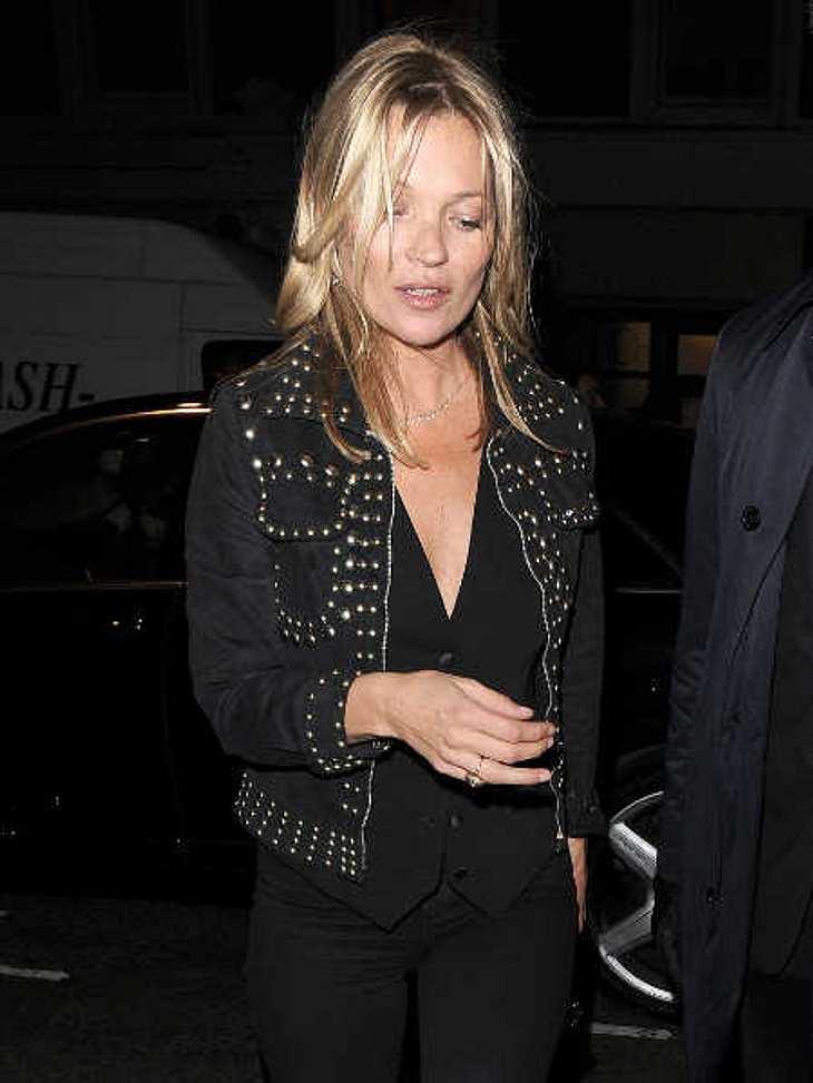 Kate Moss: Rausschmiss aus Billig-Flieger!