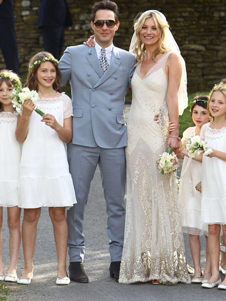 Kate Moss und Jamie Hince haben geheiratet