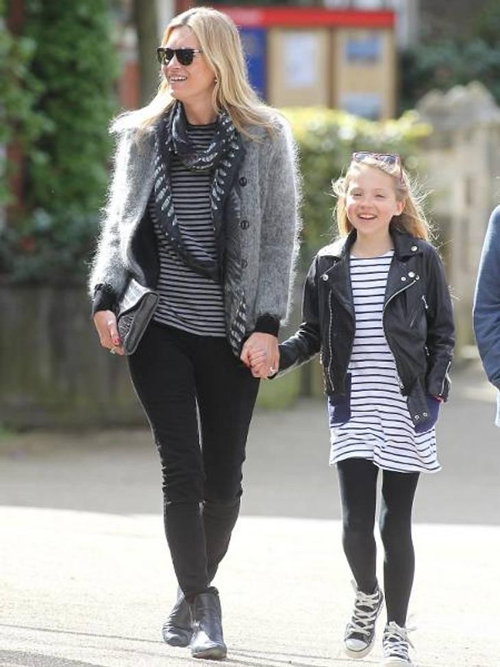 Ganz die Mama! So süß sind die Kinder der ModelsLila Grace (9) ist ihrer Mutter Kate Moss (38) nicht nur wie aus dem Gesicht geschnitten, sondern hat offenbar auch deren Leidenschaft fürs Model-Business geerbt. Die Kleine hatte bereits ein