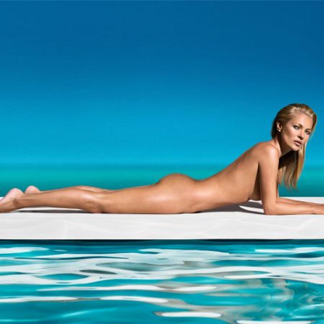Kate Moss zeigt sich nackt