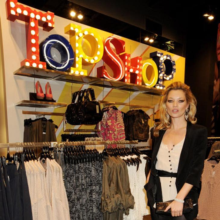 Kate Moss ist das Gesicht der Topshop-Kette