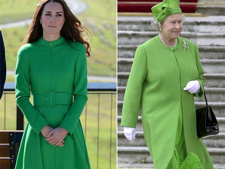 Grün ist bekanntlich die Hoffnung. Auf einen eigenen Stil hat Kate DIE wohl nicht mehr.