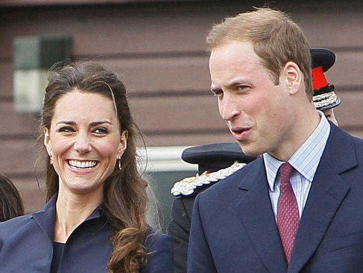 Herzogin Catherine und Prinz William erwarten 2013 ihr erstes Kind.