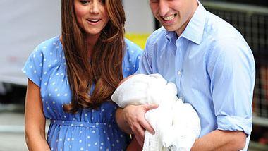 Kate und William einen Tag nach der Entbindung - Foto: GettyImages