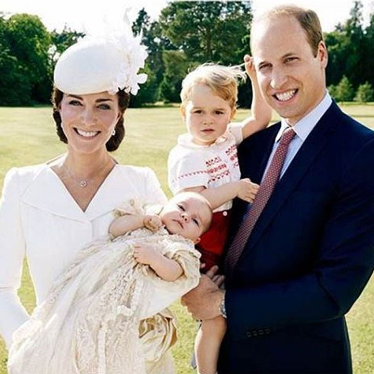 Herzogin Kate William Charlotte George