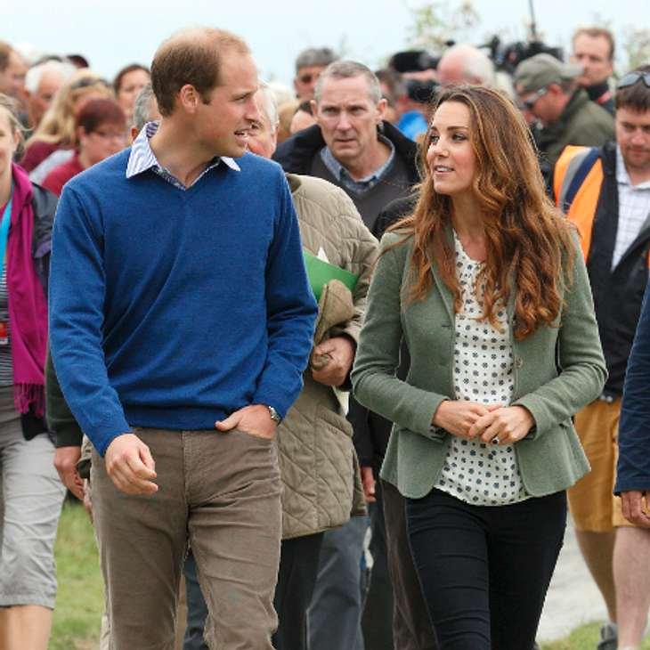 Prinz William und Kate: Taufpaten für George stehen fest