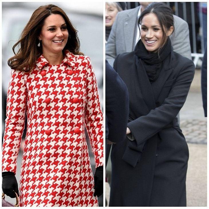 Herzogin Kate: Macht sie Meghan Markle zur Patentante ihres 3. Babys?