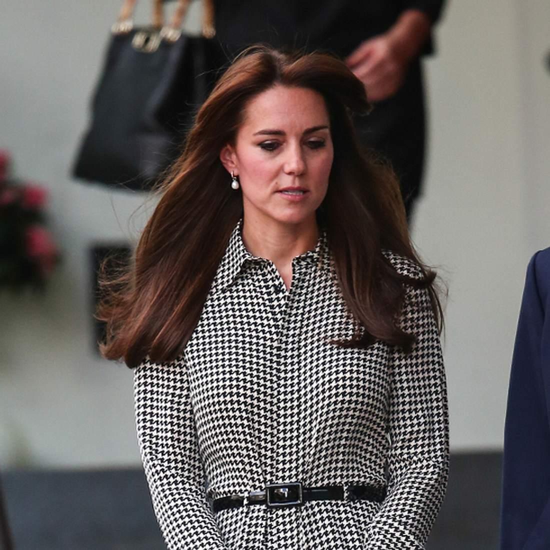 Herzogin Kate schämt sich für ihre Mutter