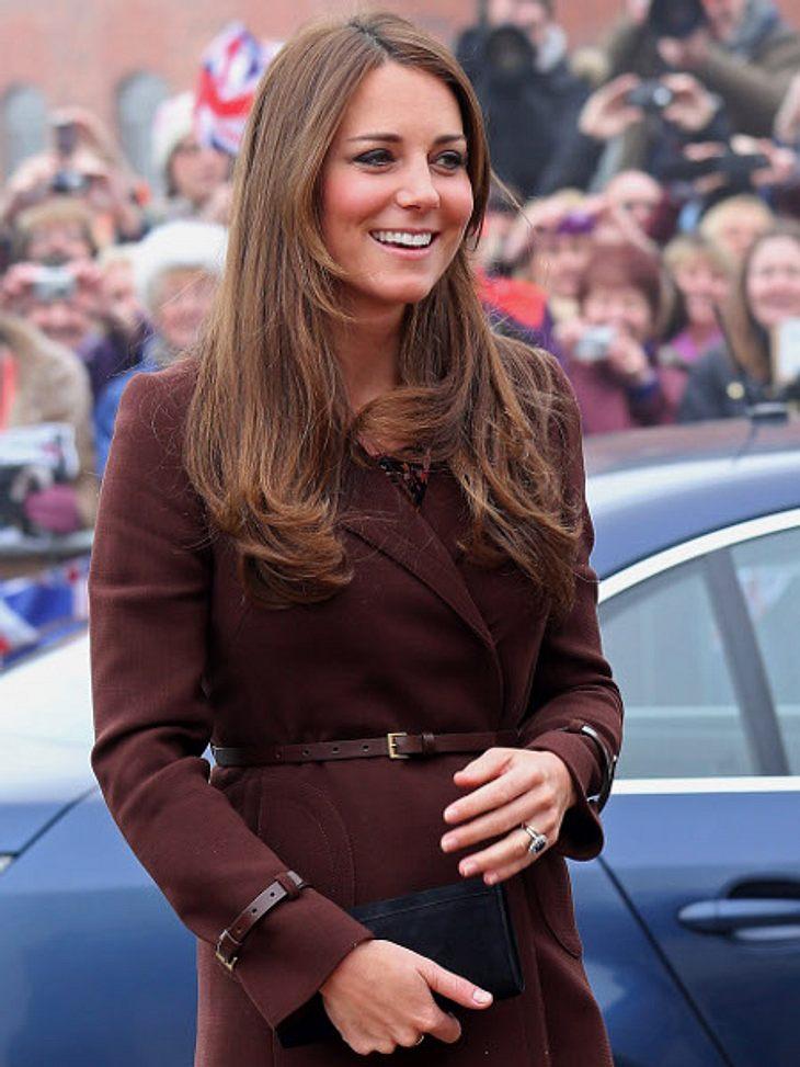 Strahlend schöne Bald-Mami Kate Middleton