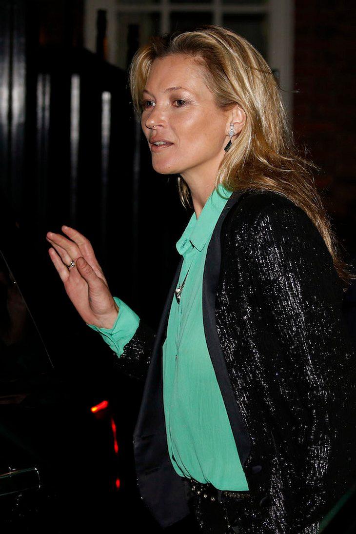 Kate Moss: Polizei findet weißes Pulver im Auto des Models