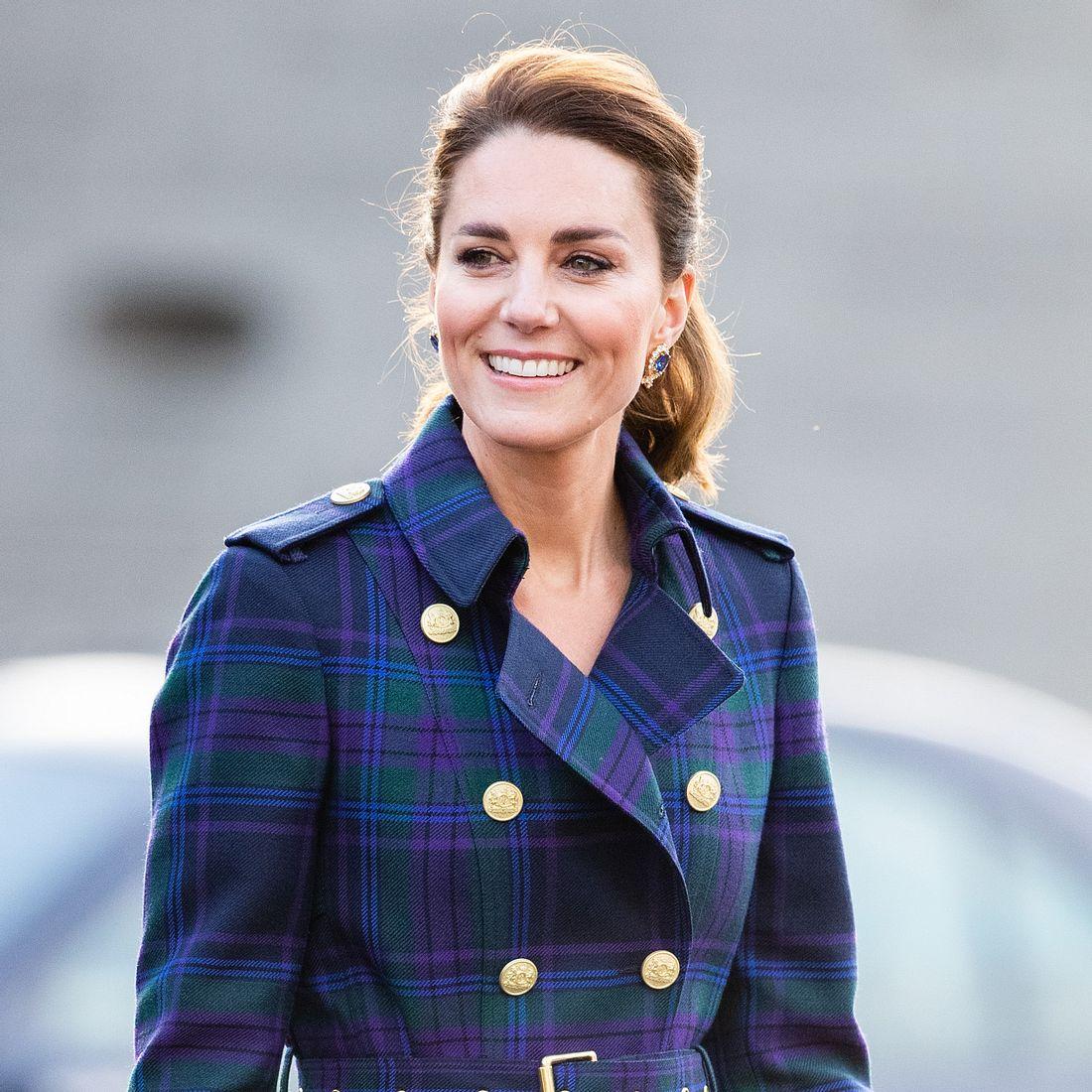 Kate in Schottland