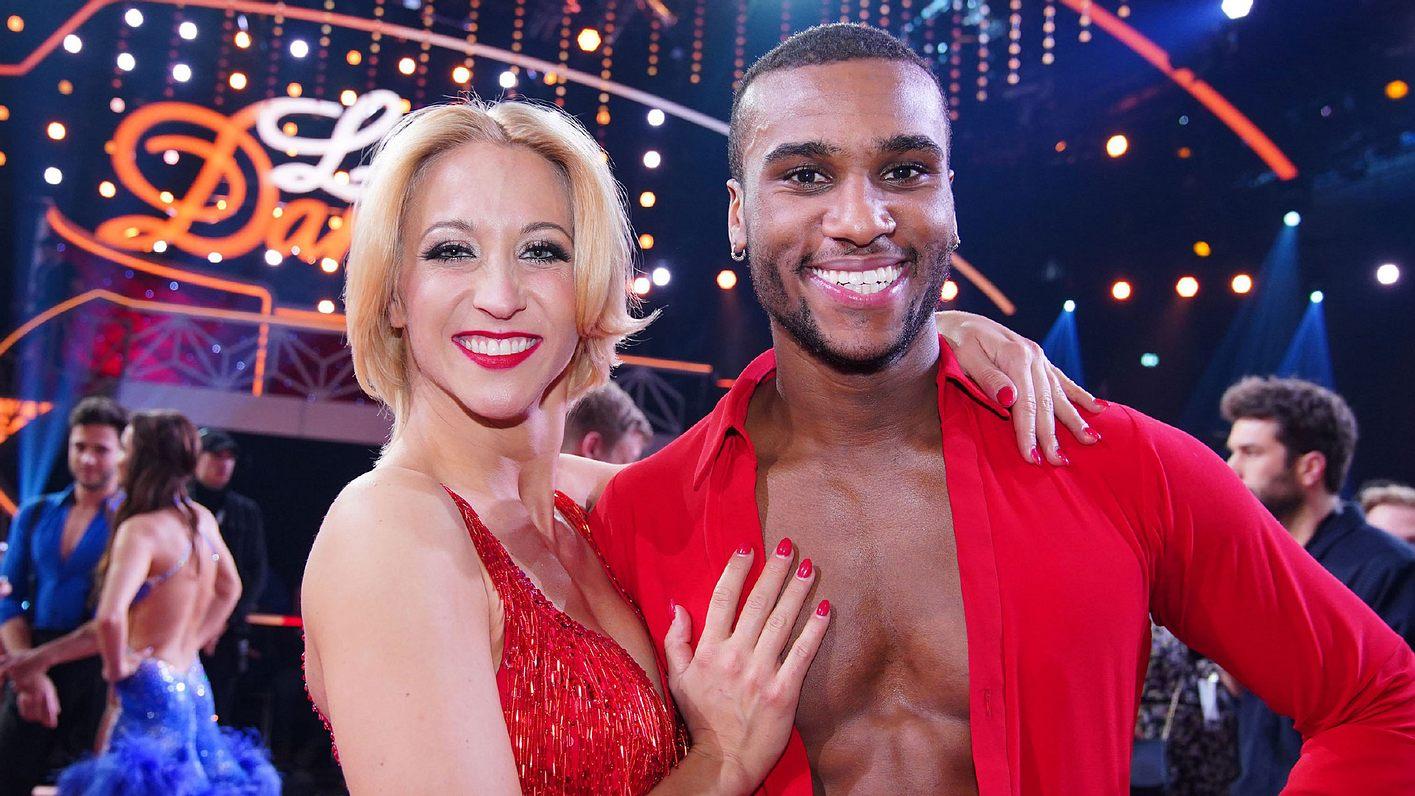 Tanz-Paar Kathrin Menzinger und Tijan Njie